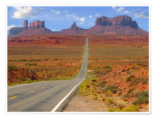Póster Monument Valley XII