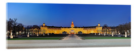 Metacrilato  Panoramic view of palace Karlsruhe Germany - Fine Art Images