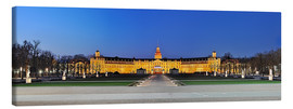Lienzo  Panoramic view of palace Karlsruhe Germany - Fine Art Images