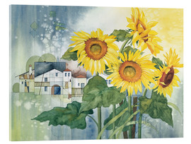 Cuadro de metacrilato  Rays of sun flowers - Franz Heigl