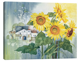 Lienzo  Rays of sun flowers - Franz Heigl