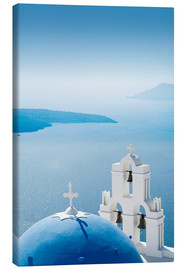 Lienzo  Church Santorini Greece - Mayday74