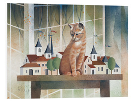 Cuadro de PVC  View of the cat - Franz Heigl