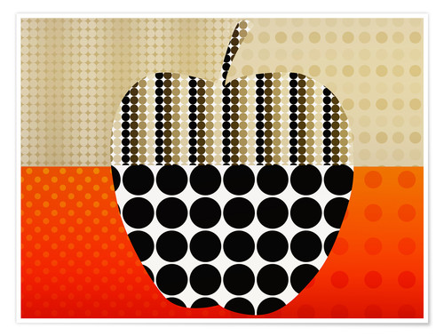 Póster apple impression