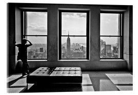 Cuadro de metacrilato  Nueva York, Top of the Rock - Thomas Splietker