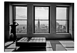 Cuadro de aluminio  Nueva York, Top of the Rock - Thomas Splietker