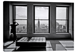 Lienzo  Nueva York, Top of the Rock - Thomas Splietker