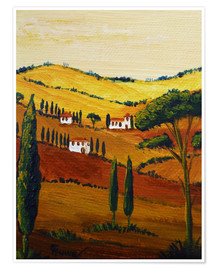 Póster  Tuscany Mini - Christine Huwer