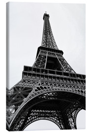 Lienzo  eiffel tower - Claudia Moeckel