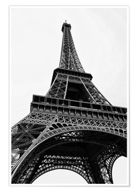 Póster  eiffel tower - Claudia Moeckel
