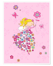 Póster Flower Princess