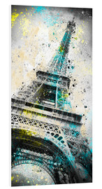 Cuadro de PVC  City Art PARIS Eiffeltower IV - Melanie Viola