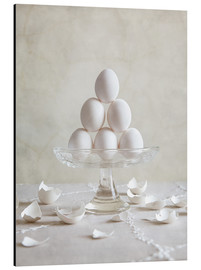 Cuadro de aluminio  Still Life with Eggs - Nailia Schwarz