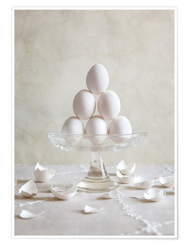 Póster Still Life with Eggs