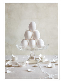 Póster  Still Life with Eggs - Nailia Schwarz