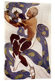 Cuadro de metacrilato  Afternoon of a Faun - Leon Nikolajewitsch Bakst