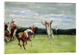 Cuadro de metacrilato  Polo players in Jenischpark - Max Liebermann