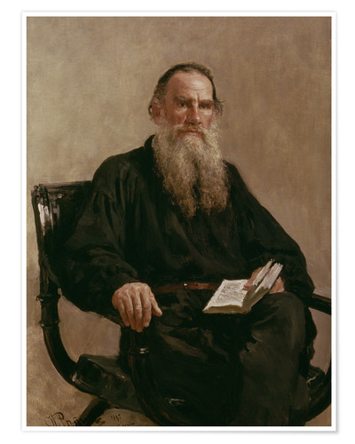 Póster Lev Tolstoy