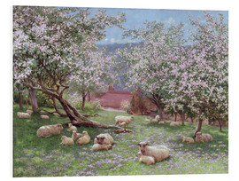 Cuadro de PVC  Appleblossom - William Biscombe Gardner