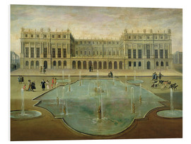 Cuadro de PVC  Chateau de Versailles from the Garden Side - French School