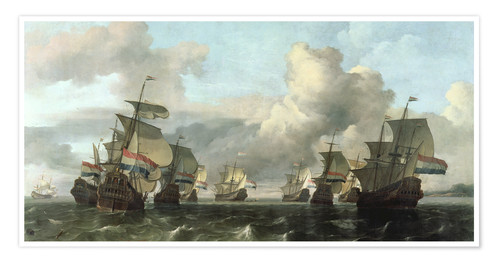 Póster The Dutch Fleet of the India Company
