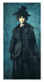 Póster  Madame Laura Leroux - Jean-Jacques Henner