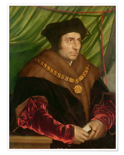 Póster Portrait of Sir Thomas More