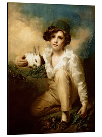 Cuadro de aluminio  Boy and Rabbit - Henry Raeburn