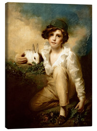 Lienzo  Boy and Rabbit - Henry Raeburn