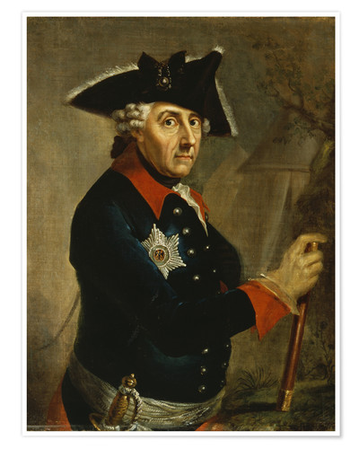 Póster Frederick the Great of Prussia