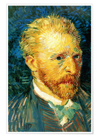 Póster Vincent van Gogh - Self Portrait