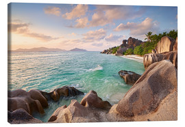 Lienzo  Welcome to La Digue - Michael Breitung