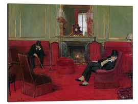 Cuadro de aluminio  The Club - Jean Beraud