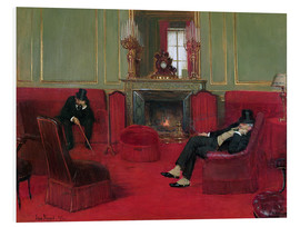 Cuadro de PVC  The Club - Jean Beraud