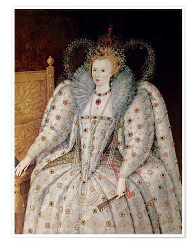 Póster Queen Elizabeth I of England and Ireland