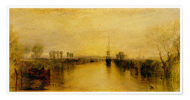 Póster  Chichester Canal - Joseph Mallord William Turner