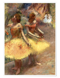 Póster Two dancers
