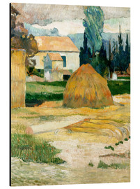 Cuadro de aluminio  Farm House in Arles - Paul Gauguin