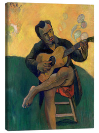 Lienzo  El guitarrista - Paul Gauguin
