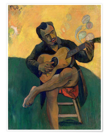 Póster  El guitarrista - Paul Gauguin