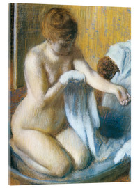 Cuadro de metacrilato  Woman in a Tub - Edgar Degas