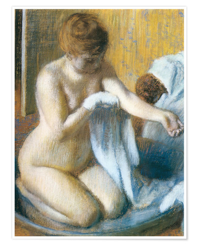 Póster Woman in a Tub
