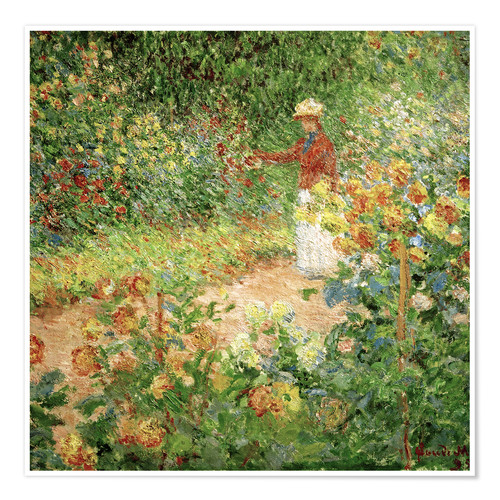 Póster Monet's Garden in Giverny