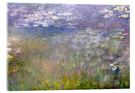 Cuadro de metacrilato  Waterlily Pond - Claude Monet