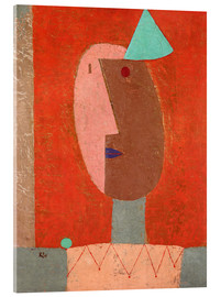 Cuadro de metacrilato  Clown - Paul Klee
