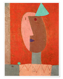 Póster  Clown - Paul Klee