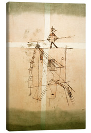 Lienzo  Tightrope Walker - Paul Klee