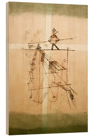 Madera  Tightrope Walker - Paul Klee