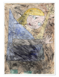 Póster  Angel - Paul Klee