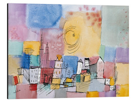 Aluminio-Dibond  German city - Paul Klee